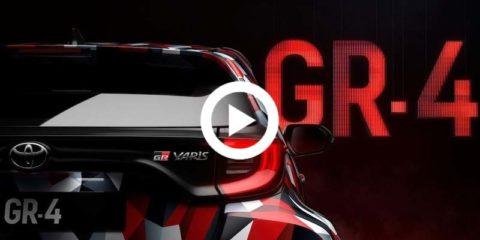Toyota Yaris CR4 Video