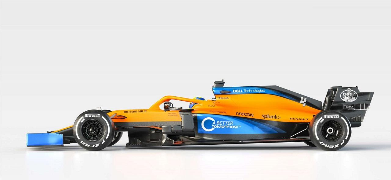 F1 - McLaren rivela la monoposto 2020. Si chiama MCL35