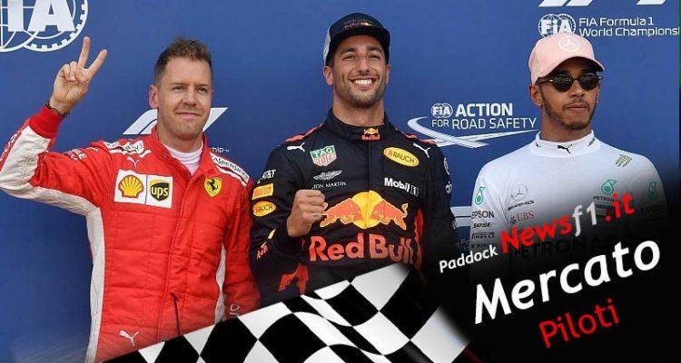 Mercato piloti Formula 1 2021