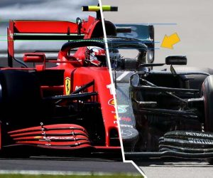 Ferrari Mercedes Silverstone