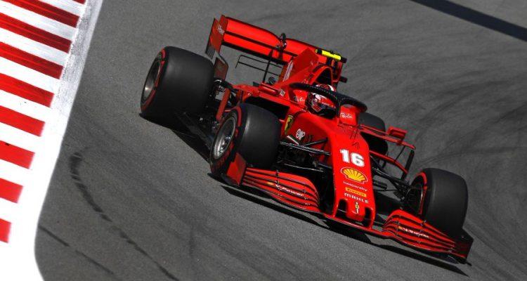 Leclerc Ferrari
