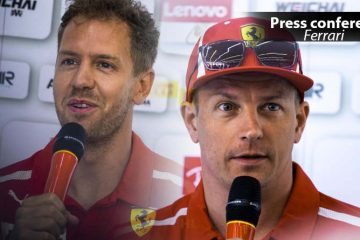 Raikkone Vettel Ferrari
