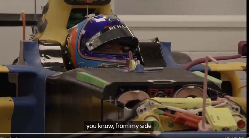 Alonso pronto per la realizzazione del sedile della prossima f1 Alpone 2022