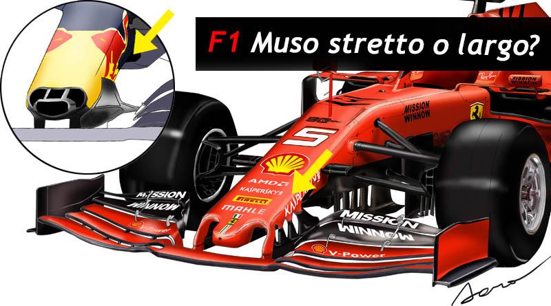 Musetto largo Ferrari