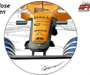 GP Toscana new nose Mclaren
