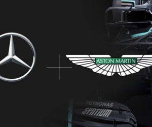 Mercedes Aston Martin