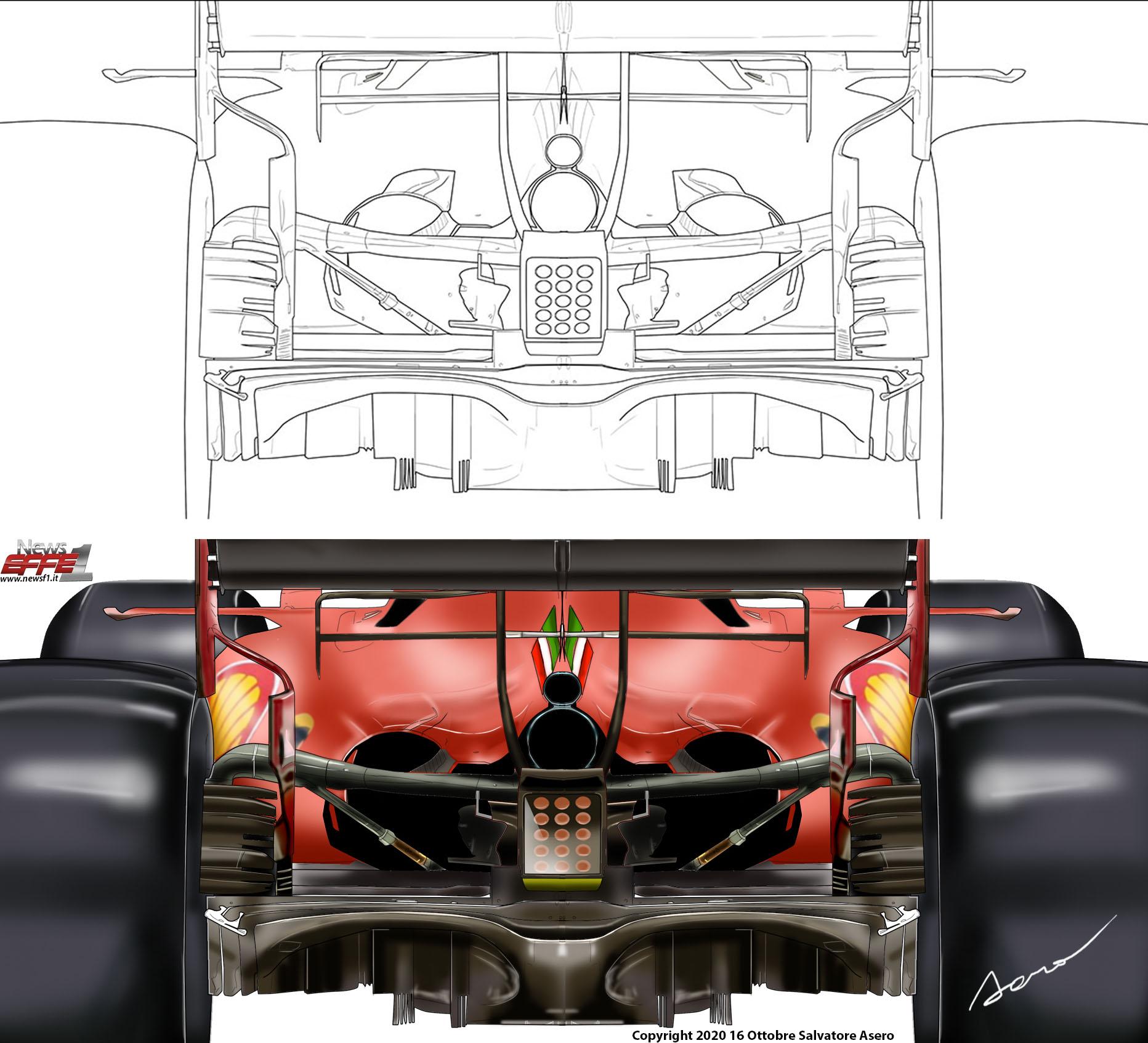 Ferrari SF1000 Diffussore
