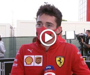 leclerc Video F1