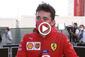 leclerc Video F1