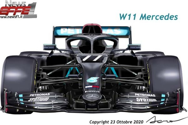 DAS Mercedes W11