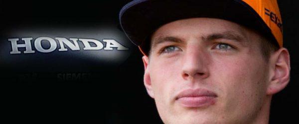 Honda F1 Verstappen
