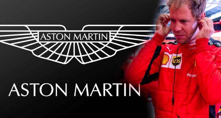 Vettel Racing Point Ferrari