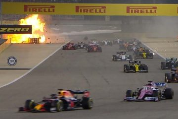 Grosjean Incidente Baharain