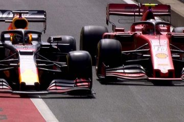 Verstappen Leclerc Bottas Russell