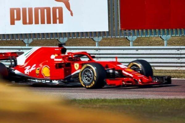 Ferrari F1 Test