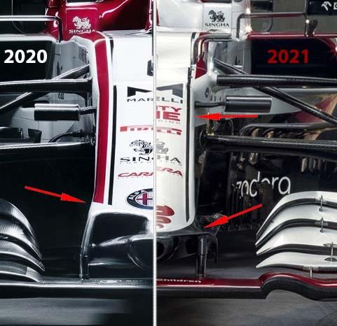 F1 2021 Muso Alfa Romeo c41