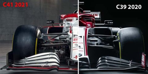 f1 2021 Alfa Romeo c41