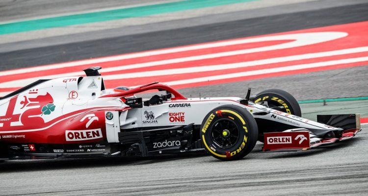 Kubica Alfa Romeo Barcellona