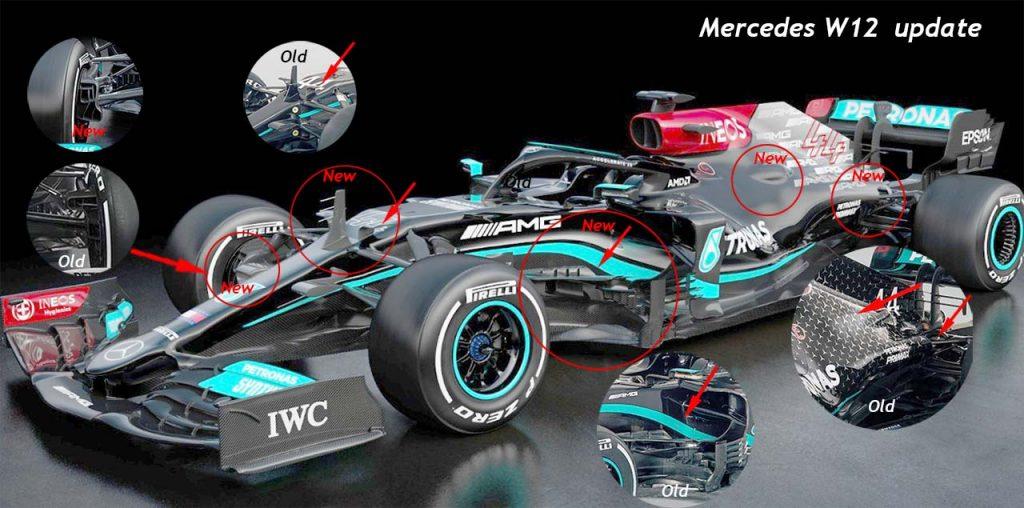 Mercedes 12 tutte le novita' tecniche
