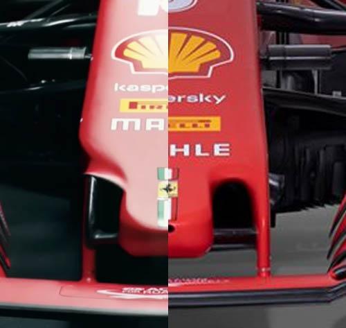 Muso Ferrari F1 2021 SF21