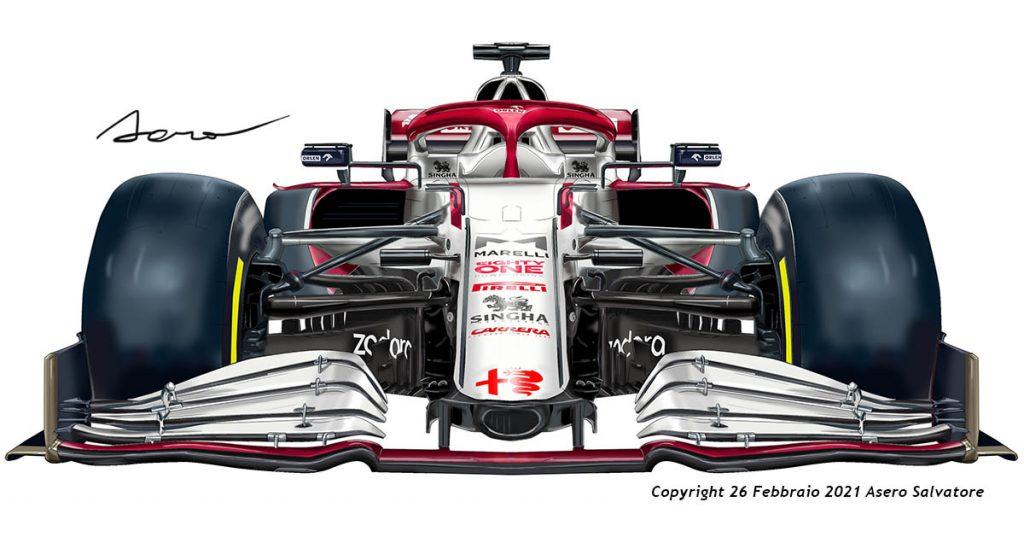 F1 Sauber Alfa Romeo