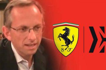 F1 Ferrari Benedetto Vigna