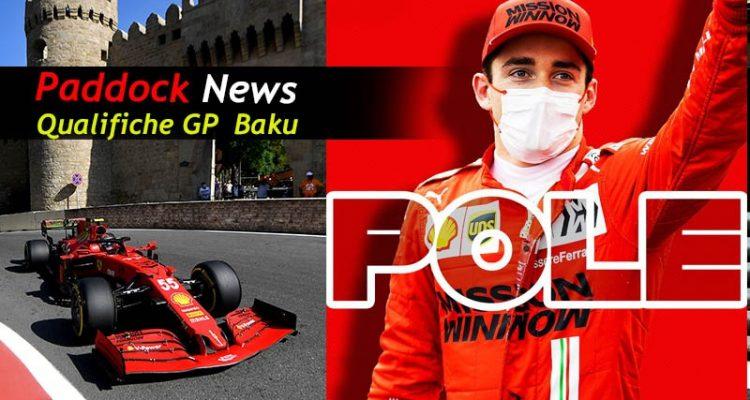 Qualifiche GP Baku