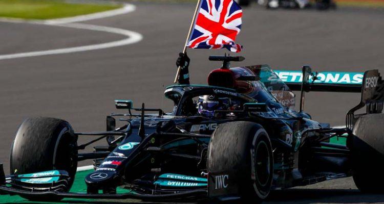 F1 Hamilton Silverstone