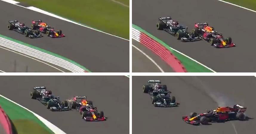 Hamilton Verstappen Silverstone