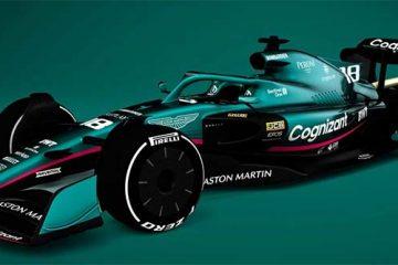 Vettel Aston martin 2022