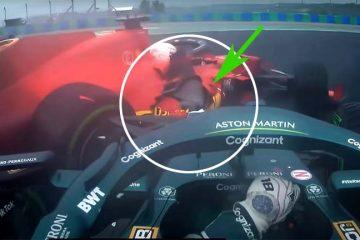 Ferrari crash Ungheria