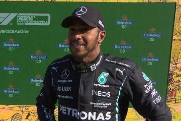 Lewis Hamilton F1 Olanda